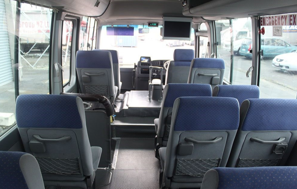 really comfortable good texture factory outlets Cheap 19 seater Coach rental - Large passenger vehicle ...